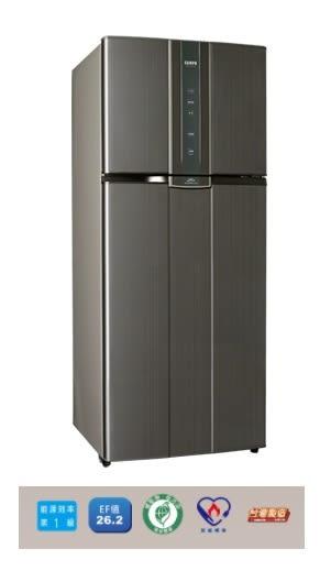 «0利率/免運費» SAMPO聲寶580公升 雙門變頻冰箱SR-A58D(K2)【南霸天電器百貨】