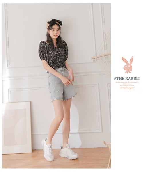 PLAYBOY 玩色風潮 兔兔老爹鞋-白(Y7312)