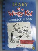 【書寶二手書T1/原文小說_GLZ】Rodrick Rules-Diary of a Wimpy Kid_Kinney, Jeff