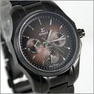 【萬年鐘錶】SIGMA日系 三眼時尚錶 1018BB18