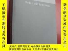 二手書博民逛書店Reden罕見Interviews (BAND 42) 德文原版