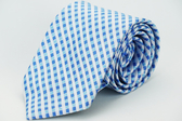 【Alpaca】藍白格紋領帶
