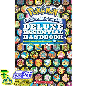 [美國直購] 神奇寶貝 精靈寶可夢周邊 Pokemon Deluxe Essential Handbook: The Need-to-Know Stats 700 Pokemon