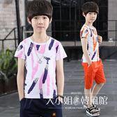男童夏裝套裝2018新款5兒童6純棉7兩件套8中大童9運動10短袖12歲-大小姐韓風館
