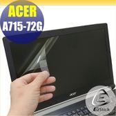【Ezstick】ACER A715-72 G 專用 靜電式筆電LCD液晶螢幕貼 (可選鏡面或霧面)