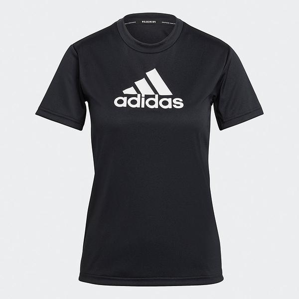 Adidas PRIMEBLUE DESIGNED 女裝 短袖 T恤 吸濕排汗 透氣 黑【運動世界】GL3820