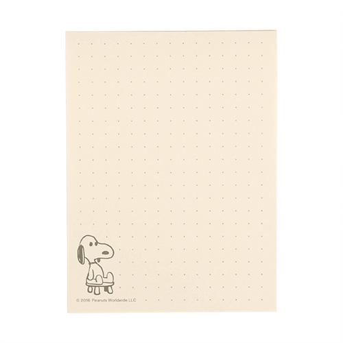 《sun-star》SNOOPY復古角色扮演系列便條紙(泰迪熊棕)★funbox生活用品★_OP49929