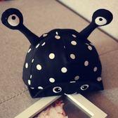 嬰兒帽子女男童鴨舌帽6-12月寶寶遮陽棒球帽