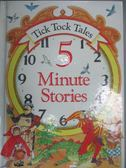 【書寶二手書T6/兒童文學_QIS】Tick Tock Tales 5 Minute Stories