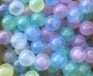 外銷限定海洋球~5色透明彩遊戲球 (球屋、球池專用波波球)~100球賣場~台灣製~SGS~幼之圓