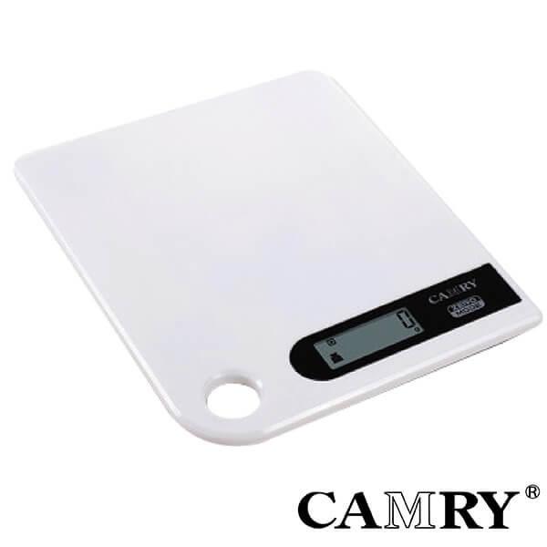 【CAMRY】數位廚房料理秤(白)|料理秤 烘焙秤 廚房秤 磅秤 迷你電子秤 信件秤 計量器具