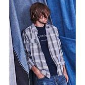 CACO-日系格紋襯衫(二色)-男【UNA017】