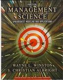 二手書博民逛書店《Practical Management Science: Spreadsheet Modeling and Applications》 R2Y ISBN:0534217745