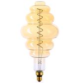 螺旋造型燈絲燈泡 5.5W 型號SW-S200T400G-2200K E27型燈頭