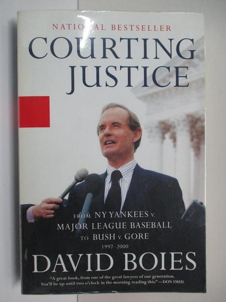 【書寶二手書T1/原文書_DQG】Courting Justice: From the NY Yankees V. Major…