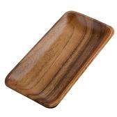 HOLA桑梧洋槐木長窄型盤19.5cm