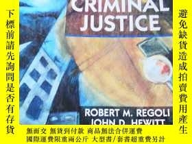 二手書博民逛書店CRIMINAL罕見JUSTICEY223356 ROBERT M. REGOLI