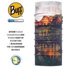 [西班牙製 BUFF] Coolmax 暮光湖景 防曬透氣 頭巾;BF117020-555;蝴蝶魚戶外