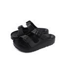 童鞋 涼鞋 拖鞋式 黑色 中童 8812C no223