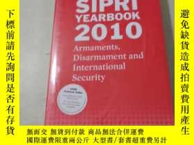 二手書博民逛書店SIPRI罕見YEARBOOK 2010Y14197 Stock