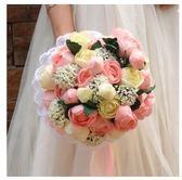 爆款新款韓版仿真新娘伴娘婚禮攝影道具手捧花LYH3332【大尺碼女王】