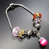 串珠手鍊 925純銀-水晶飾品氣質珍珠母親節生日禮物女配件73bo85[時尚巴黎]
