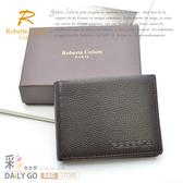 ROBERTA諾貝達皮夾真皮包短夾男夾-三夾層24006-2咖啡