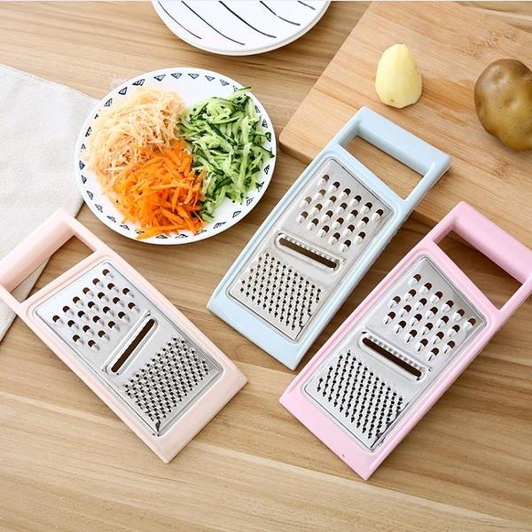 切菜機 多功能切菜器廚房三合一馬鈴薯絲切絲器黃瓜切片器瓜果擦絲器刨絲器【幸福小屋】