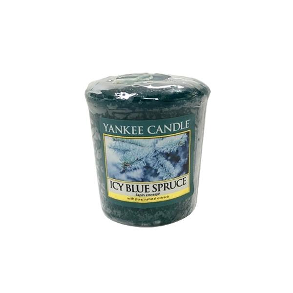英國進口 Yankee 香氛蠟燭 Icy Blue Spruce 冰冷藍雲杉款 49g (無容器包裝)