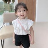 女童T恤 2020女童娃娃衫新款夏裝兒童襯衫小女孩短袖T恤洋氣韓版上衣【快速出貨】