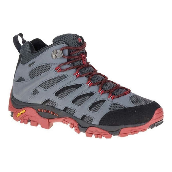 [Merrell] MOAB Mid GTX中筒登山鞋 - 灰(男款) (ML36795)