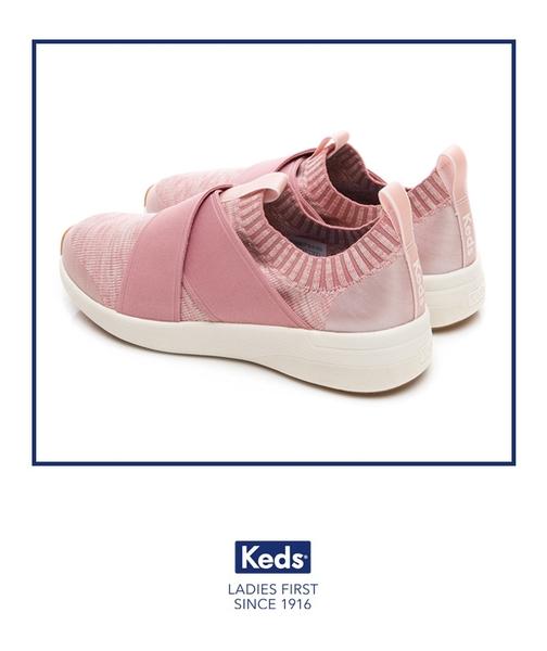 Keds 女鞋 Studio 完美包覆輕量休閒鞋-淺粉 83W132550