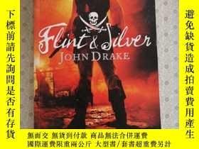 二手書博民逛書店16開英文原版罕見Flint and SilverY281995 John Drake HarperColli