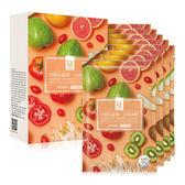 亮顏五蔬果元氣面膜8片/盒【寶雅】