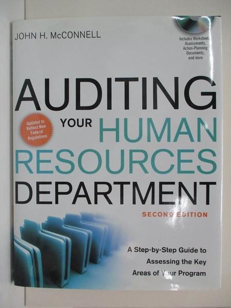【書寶二手書T1/大學商學_DJ6】Auditing Your Human Resources Department