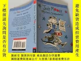 二手書博民逛書店judy罕見moody declares independence:朱迪·穆迪宣布獨立Y200392