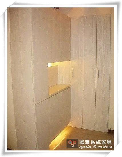 【系統家具】木門高櫃/木門懸空鞋櫃
