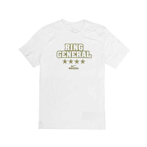 Nike 短袖T恤 M Boxing Ring General Tee 白 金 男款 短T 美國國旗 拳擊 運動休閒 【ACS】 561416100B-XRG