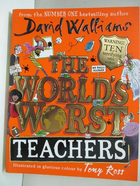 【書寶二手書T1/原文小說_A4D】The World's Worst Teachers_David Walliams,Tony Ross (ILT)