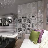 屏風   簡易歐式屏風隔斷時尚客廳臥室簡約現代玄關雕花折疊掛簾子軟折屏