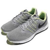 Nike 慢跑鞋 Run Swift 灰 綠 白底 避震透氣 運動鞋 男鞋【PUMP306】 908989-008