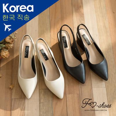 跟鞋.踝挖空尖頭高跟包鞋-FM時尚美鞋-韓國精選.lightly