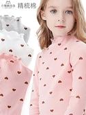 女童打底衫兒童長袖T恤春秋薄寶寶純棉女孩洋氣大童秋裝上衣 童趣屋  新品