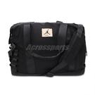 Nike 旅行袋 Jordan Shoulder Bag 黑 黃 男女款 兩用 手提 斜背包【ACS】 JD2133025GS-001