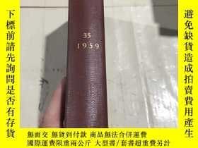 二手書博民逛書店INTERNATIONAL AFFAIRS VOLUME罕見35