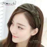 韓國發箍發帶頭飾簡約寬邊發飾品發卡子頭箍布藝日韓版甜美