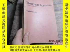 二手書博民逛書店investment罕見appraisal and relate