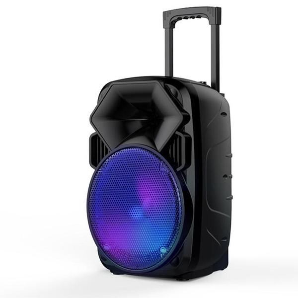 雅蘭仕廣場舞音響行動拉桿音箱戶外播放器帶無線話筒k歌便攜式12寸家用唱歌  AFT  魔法鞋櫃