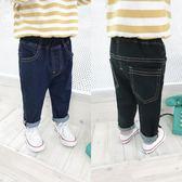 寶寶牛仔褲秋裝新款男童韓版長褲子嬰幼兒深色休閒褲1234歲潮