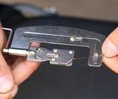 新型魚鉤綁鉤器 不銹鋼手動綁釣魚鉤器綁雙鉤工具釣魚快速拴鉤器